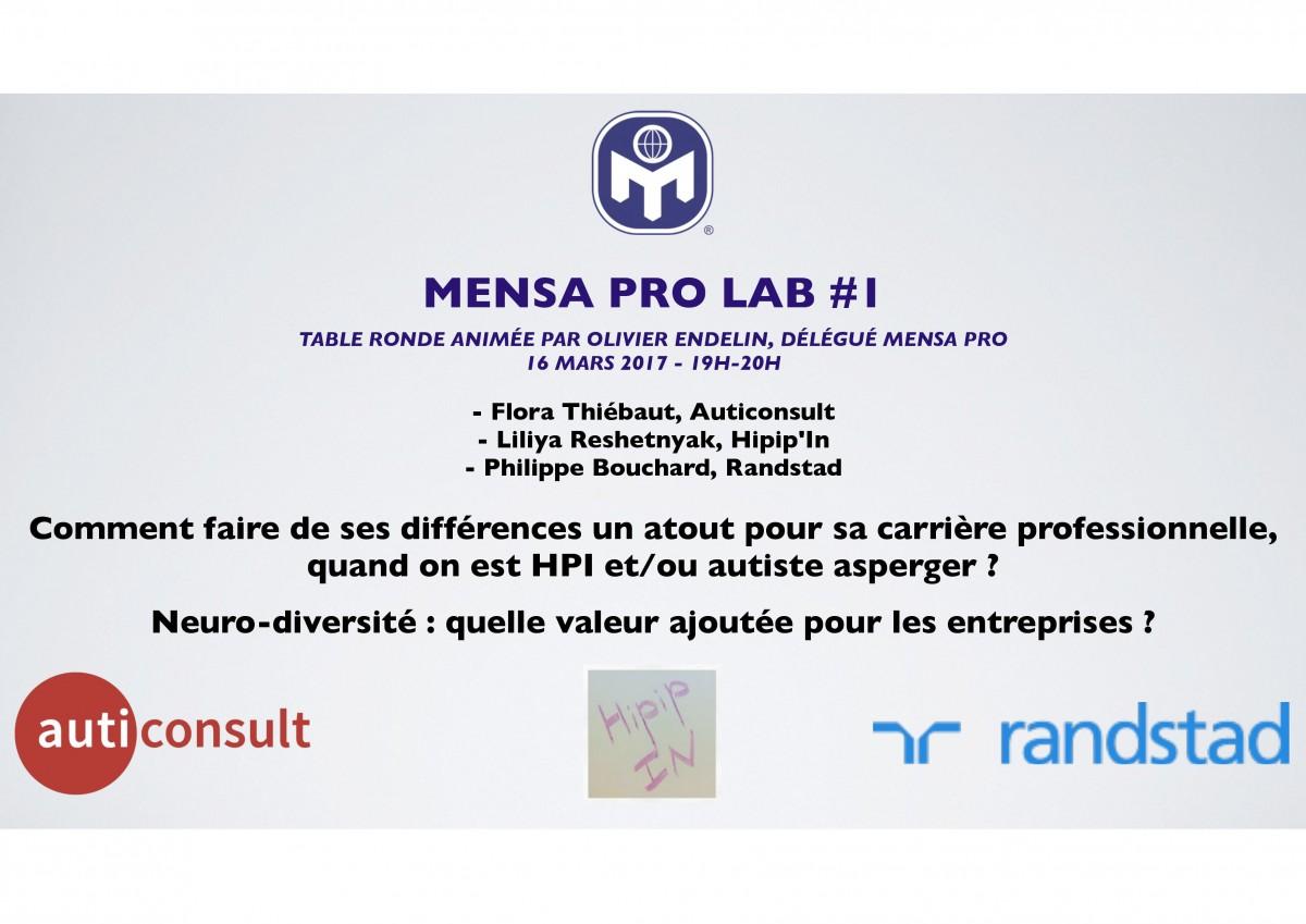 Table ronde Mensa Pro
